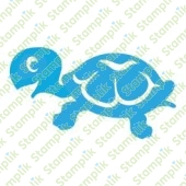 Clear stamp turtle