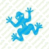 Clear stamp frog