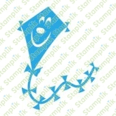 Clear stamp kite