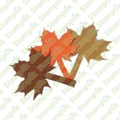 Paper cut maple leaf