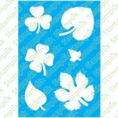 Template to decorate leaves 2