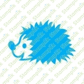 Clear stamp hedgehog