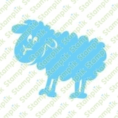 Clear stamp sheep